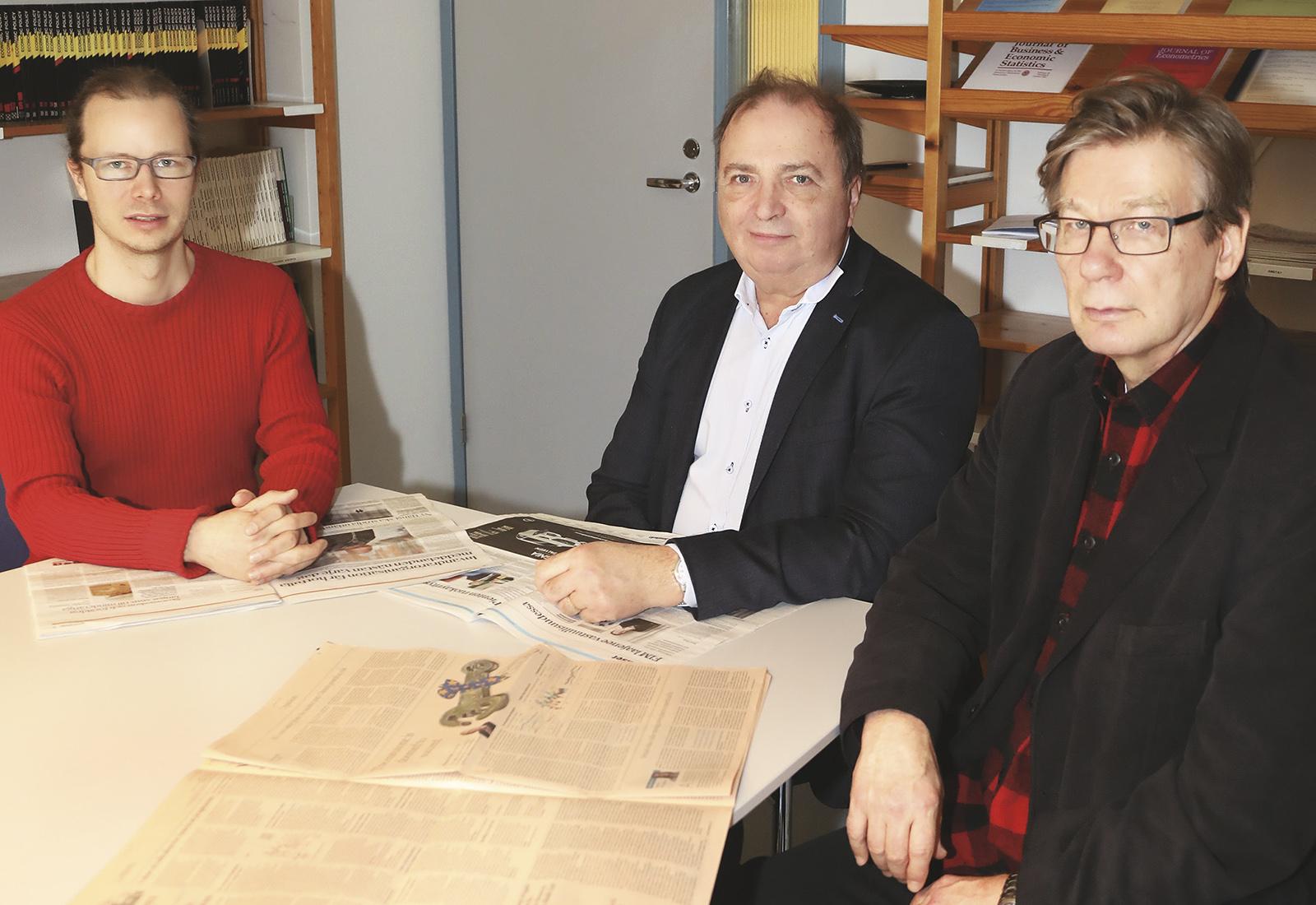 Pertti Haaparanta, Ohto Kanninen, Heikki Taimio
