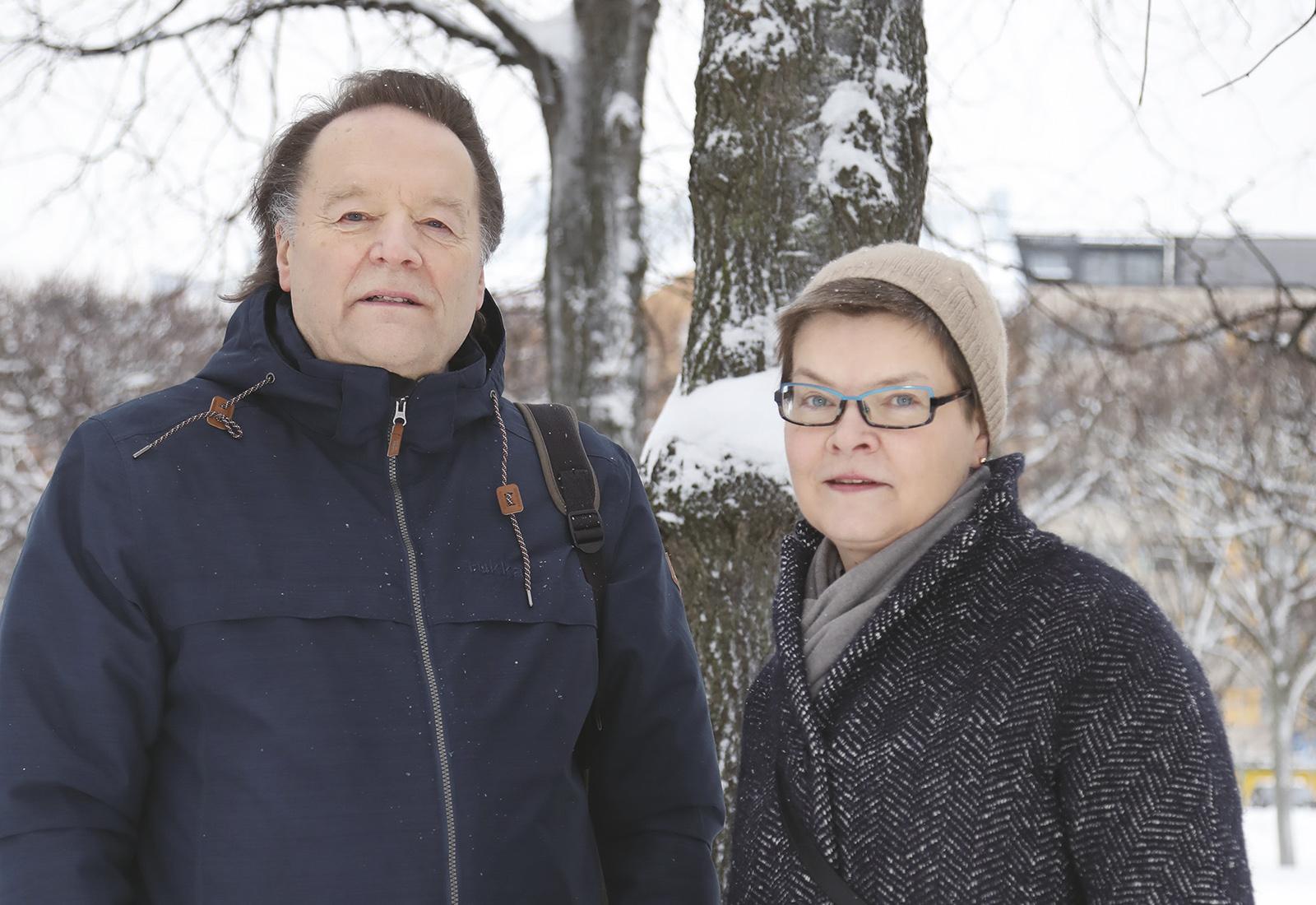 Marja Riihelä, Matti Tuomala