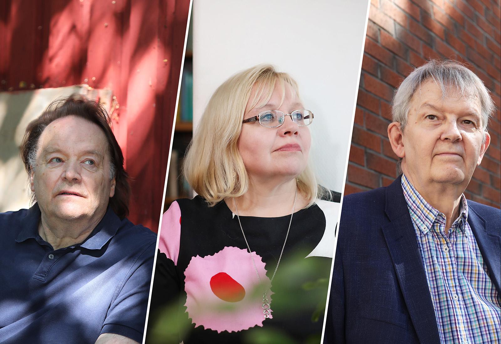 Matti Tuomala, Merja Kauhanen, Ilpo Suoniemi