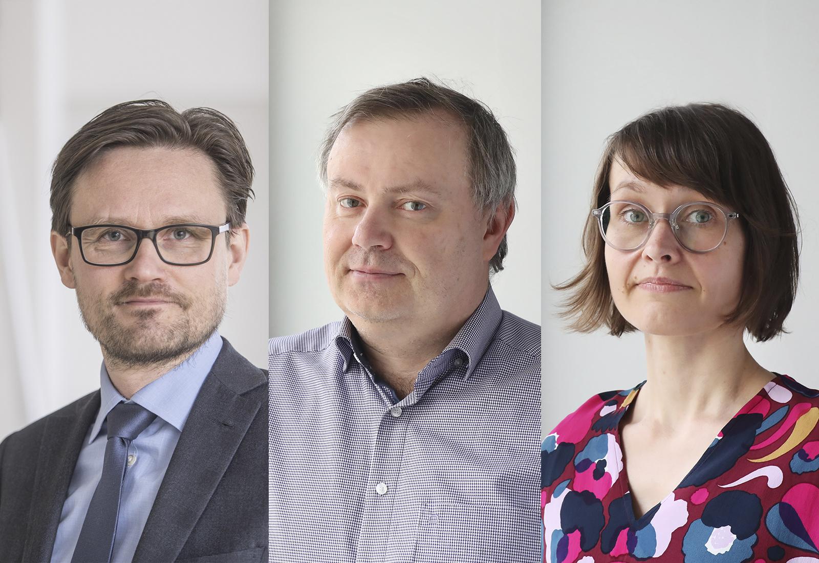 Janne Huovari, Markus Lahtinen, Marjo Maidell